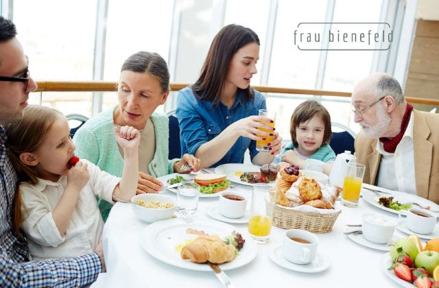 Stressfreies Familienessen