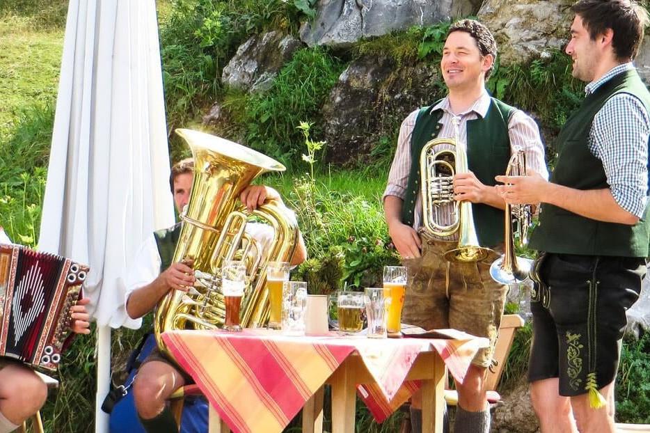 Insel Mühle Biergarten